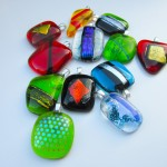 another bunch of pendants or various shapes and colours