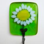 daisy tea towel holder
