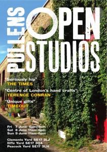Pullens Open Studios, 7,8,9 June -1
