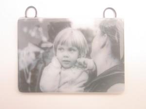 Example of photograph in glass